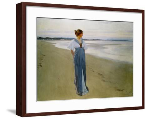 The Seashore, 1900-William Henry Margetson-Framed Art Print