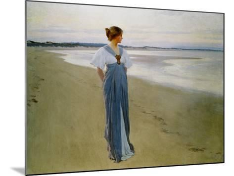 The Seashore, 1900-William Henry Margetson-Mounted Giclee Print
