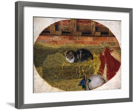 Catnap, 1858-Rosa Brett-Framed Art Print
