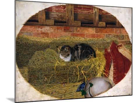 Catnap, 1858-Rosa Brett-Mounted Giclee Print