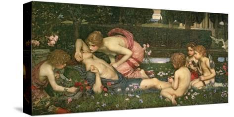 The Awakening of Adonis, 1899-John William Waterhouse-Stretched Canvas Print