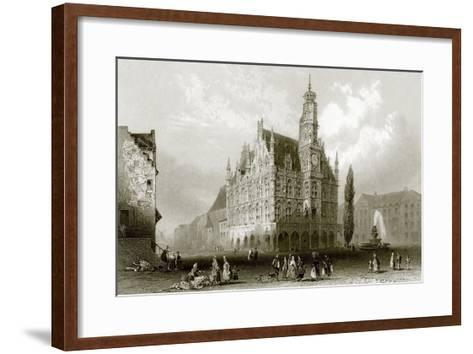 Hotel De Ville-English-Framed Art Print