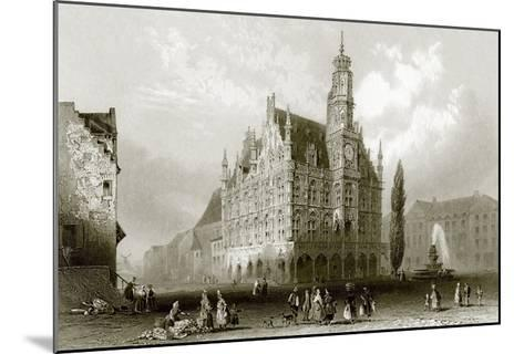 Hotel De Ville-English-Mounted Giclee Print