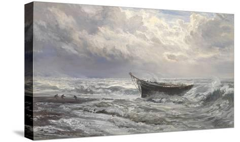 Stormy Seas, 1874-Henry Moore-Stretched Canvas Print