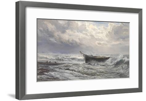 Stormy Seas, 1874-Henry Moore-Framed Art Print