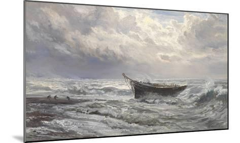 Stormy Seas, 1874-Henry Moore-Mounted Giclee Print