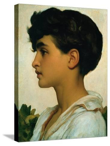 Paolo, 1875-Frederick Leighton-Stretched Canvas Print