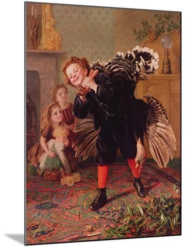 Here Comes the Gobbler..., C.1877-Sophie Anderson-Mounted Giclee Print