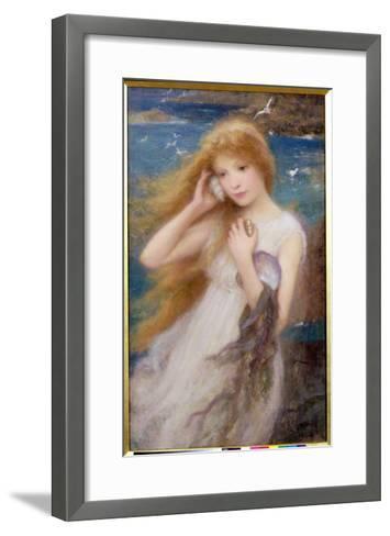 Sea Nymph, 1893-William Robert Symonds-Framed Art Print