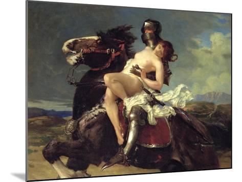 The Rescue-Vereker Monteith Hamilton-Mounted Giclee Print