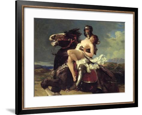 The Rescue-Vereker Monteith Hamilton-Framed Art Print