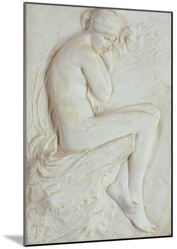 Psyche (Plaster)-Harry Bates-Mounted Giclee Print