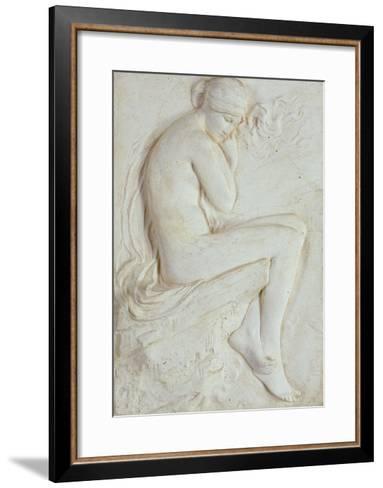 Psyche (Plaster)-Harry Bates-Framed Art Print