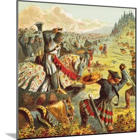 Edward I Attacks Scotland-English-Mounted Giclee Print