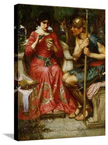 Jason and Medea, 1907-John William Waterhouse-Stretched Canvas Print