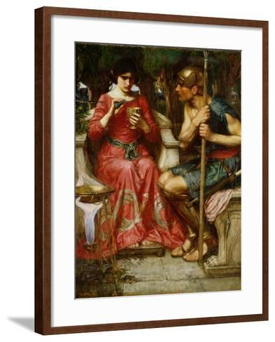 Jason and Medea, 1907-John William Waterhouse-Framed Art Print