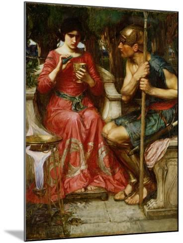 Jason and Medea, 1907-John William Waterhouse-Mounted Giclee Print