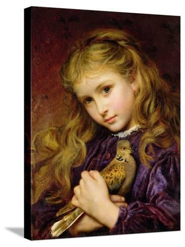 The Turtle Dove-Sophie Anderson-Stretched Canvas Print