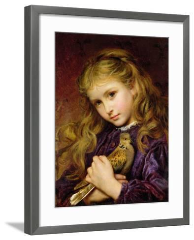 The Turtle Dove-Sophie Anderson-Framed Art Print
