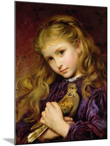 The Turtle Dove-Sophie Anderson-Mounted Giclee Print