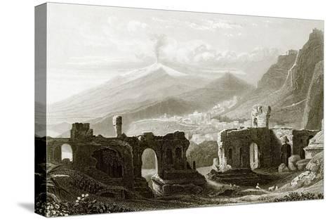 Taormina-English-Stretched Canvas Print