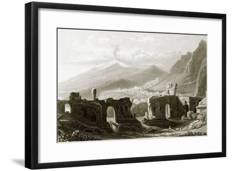Taormina-English-Framed Art Print