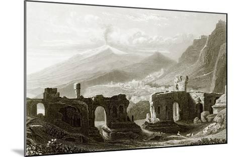 Taormina-English-Mounted Giclee Print