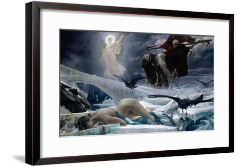 Ahasuerus at the End of the World-Adolph Hiremy-Hirschl-Framed Art Print
