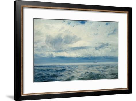 Storm Brewing, 1890-Henry Moore-Framed Art Print