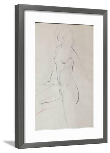 The Bath-Eric Gill-Framed Art Print