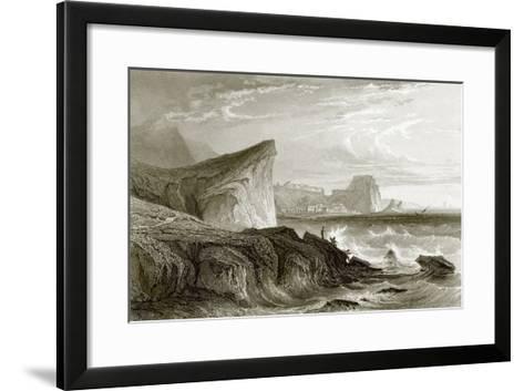 Scilla and Charybdis, Sicily-English-Framed Art Print