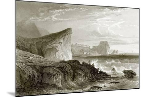 Scilla and Charybdis, Sicily-English-Mounted Giclee Print