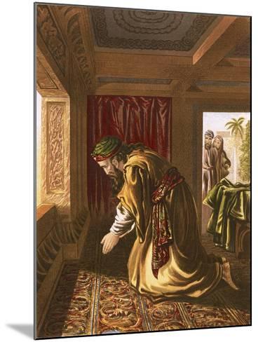 Daniel Praying-English-Mounted Giclee Print