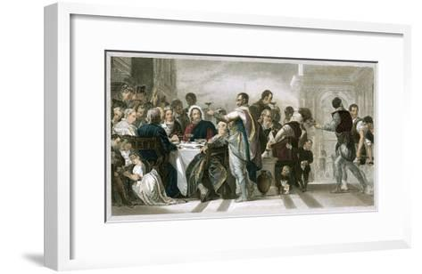 Marriage at Cana-Paolo Veronese-Framed Art Print