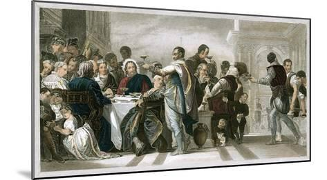 Marriage at Cana-Paolo Veronese-Mounted Giclee Print