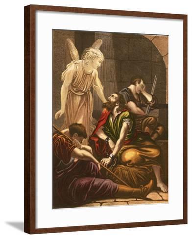 Peter in Prison-English-Framed Art Print