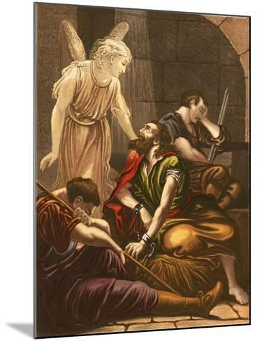 Peter in Prison-English-Mounted Giclee Print