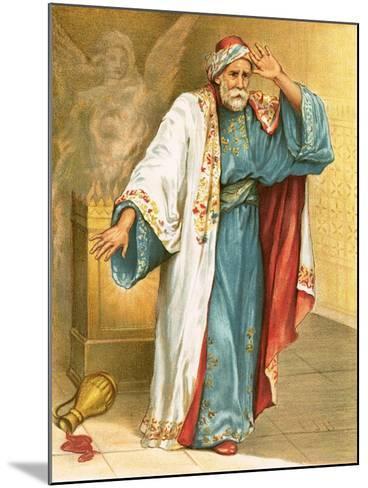 Uzziah Smitten with Leprosy-English-Mounted Giclee Print