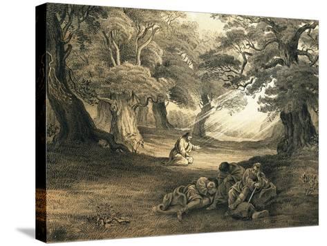 Gethsemane-English-Stretched Canvas Print