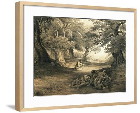 Gethsemane-English-Framed Art Print