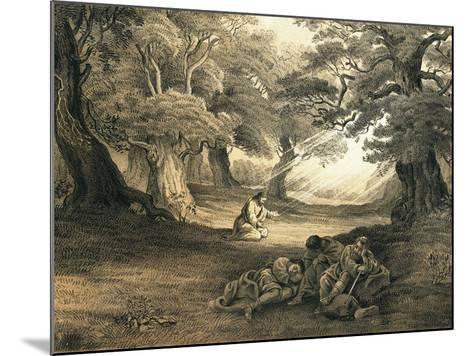 Gethsemane-English-Mounted Giclee Print