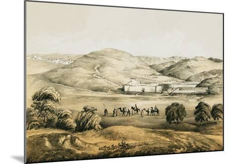 Pools of Solomon with Distant View of Bethlehem-English-Mounted Giclee Print