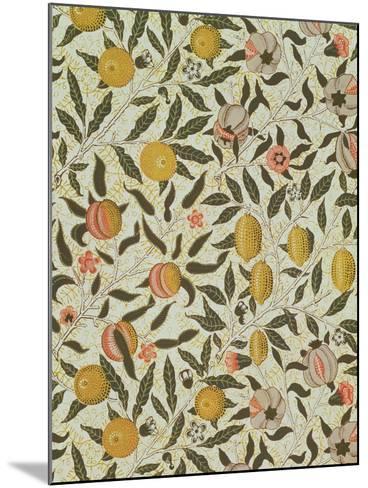 Fruit or Pomegranate Wallpaper Design-William Morris-Mounted Giclee Print
