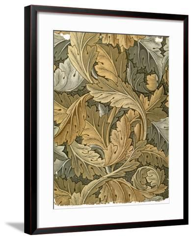 Acanthus Wallpaper, Designed by William Morris (1834-96), 1875--Framed Art Print