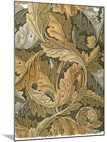 Acanthus Wallpaper, Designed by William Morris (1834-96), 1875--Mounted Giclee Print