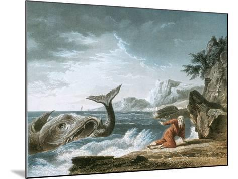 Jonah Having Been Vomited Out by the Whale onto Dry Land-Claude Joseph Vernet-Mounted Giclee Print