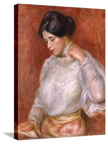 Graziella, 1896-Pierre-Auguste Renoir-Stretched Canvas Print