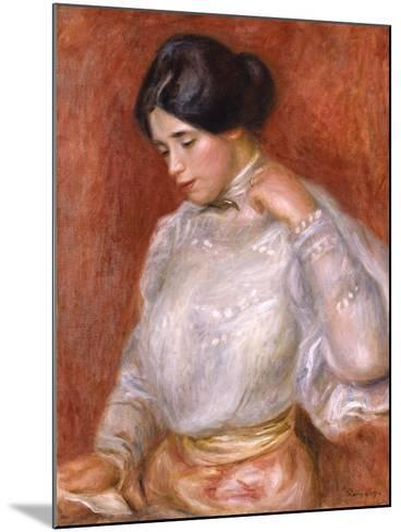 Graziella, 1896-Pierre-Auguste Renoir-Mounted Giclee Print
