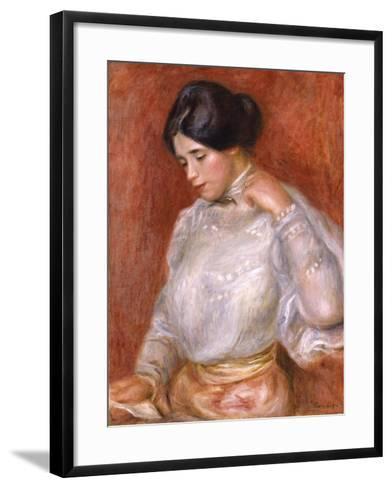 Graziella, 1896-Pierre-Auguste Renoir-Framed Art Print