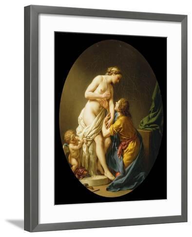 Pygmalion and Galatea, 1781-Louis Jean Francois I Lagrenee-Framed Art Print
